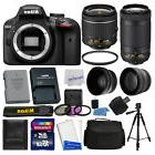 Nikon D3400 Digital SLR Camera + 16GB Top Value Bundle + 18-