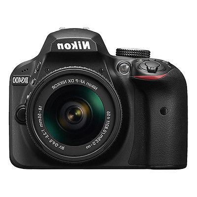 Nikon D3400 24.2 Digital Camera with Lens - mm - mm - Black - - Optical Zoom - - x 4000 Image 1920 - HDMI - Movie LAN