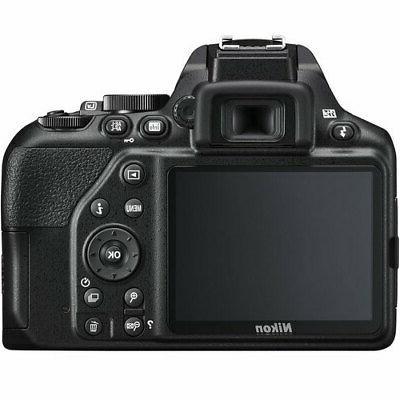Nikon D3500 Digital Camera NIKKOR +32GB Top