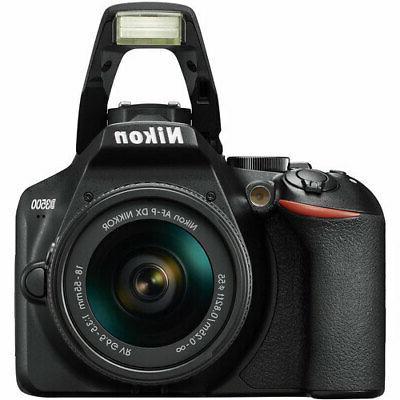 Nikon Digital Camera Black + NIKKOR VR Lens +32GB Top