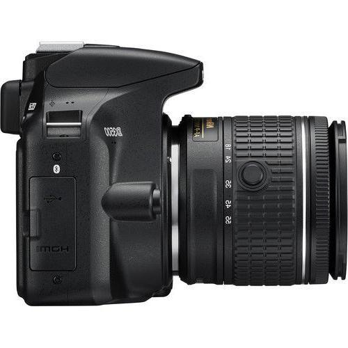 Nikon Digital Camera Black + 18-55mm VR Lens 32GB Bundle + More
