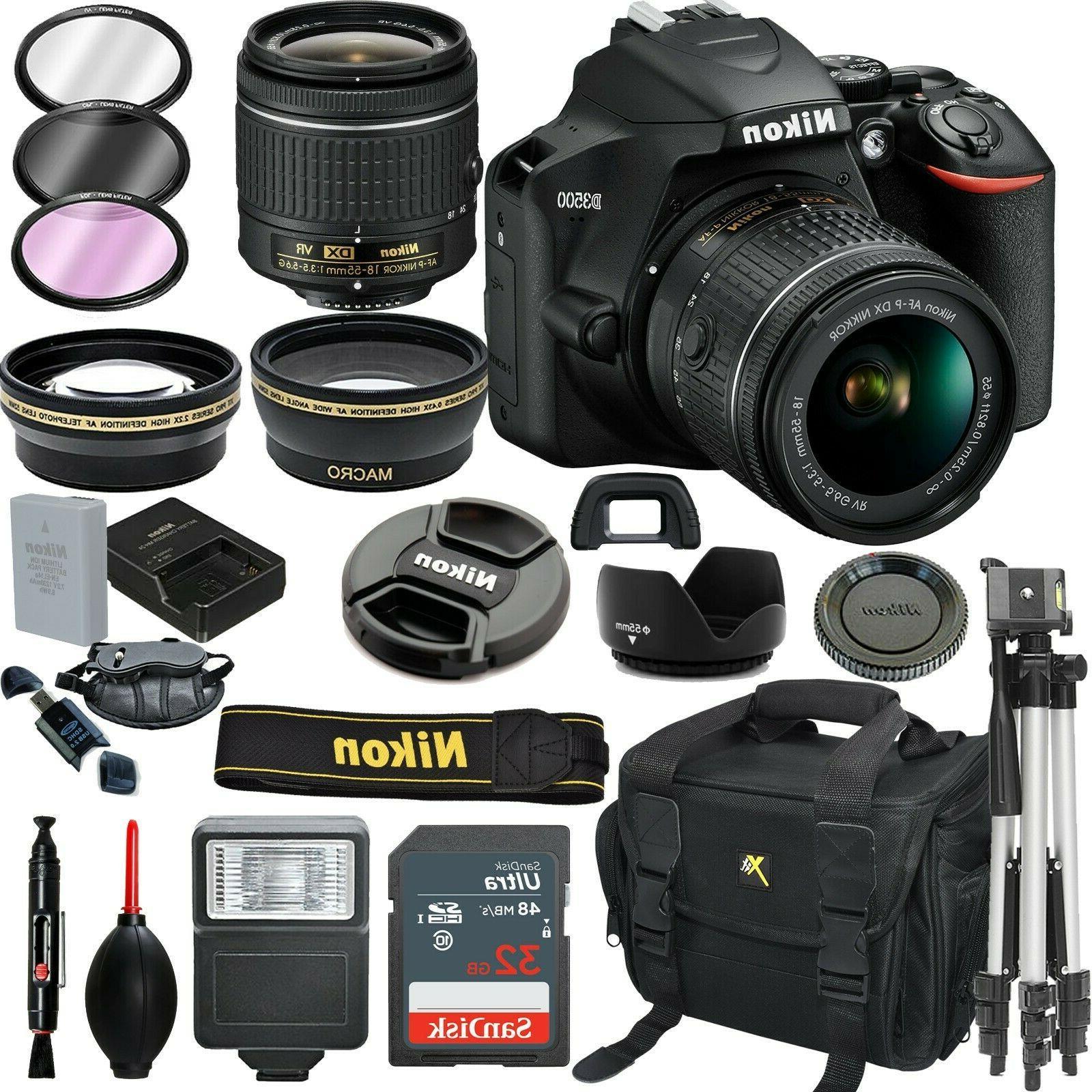 d3500 digital slr camera black 18 55mm