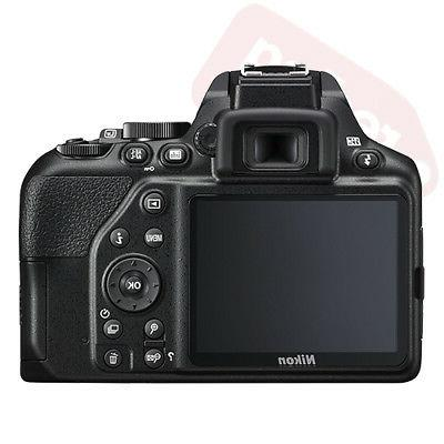 Nikon D3500 Camera Black 3 Lens: 18-55mm Lens +