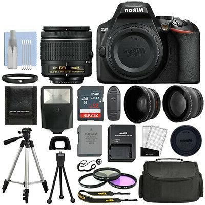 d3500 digital slr camera black 3 lens