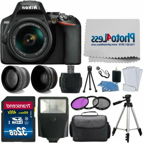 d3500 digital slr camera black af p