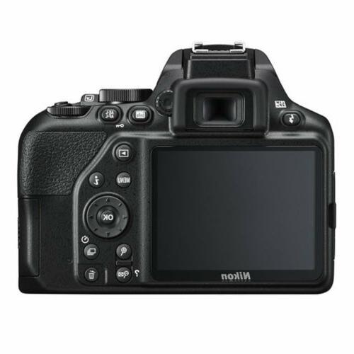 Nikon Camera AF-P DX NIKKOR 18-55mm f/3.5-5.6G VR Lens Black