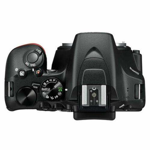 Nikon D3500 Digital Camera w AF-P NIKKOR Lens