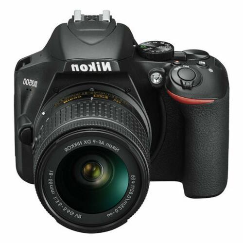 Nikon SLR Camera AF-P NIKKOR f/3.5-5.6G Lens Black