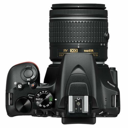 Nikon D3500 Digital Camera NIKKOR 18-55mm Lens Black