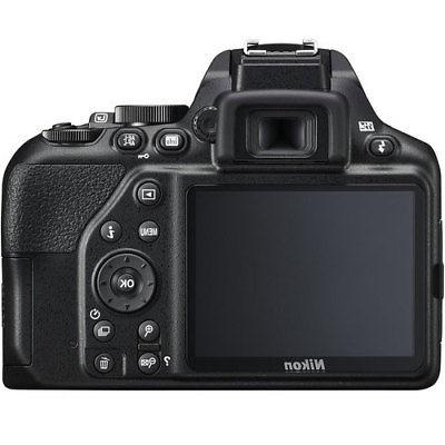 Nikon DSLR Camera Body Black +32GB Value Kit