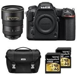 Nikon D500 CMOS DX DSLR Camera w/ 4K Video  + 17-55mm ED Zoo