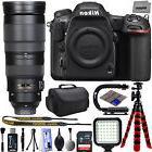 Nikon D500 4K 2160P DSLR Camera w/ Nikon AF-S 200-500mm f/5.