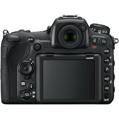 Nikon D500 DX 4K Memory Battery Bundle