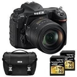 Nikon D500 20.9MP DX Format DSLR Camera w/ 16-80mm VR Lens D