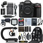 Nikon D500 20.9 MP 4K Digital SLR Camera Body + 64GB Pro Vid