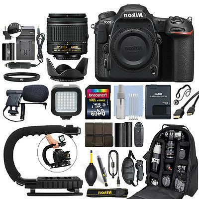 Nikon D500 Digital SLR Camera 4K with 18-55mm VR Lens + 64GB