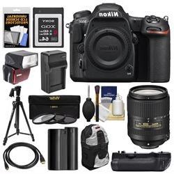Nikon D500 Wi-Fi 4K Digital SLR Camera Body with 18-300mm VR