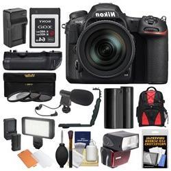 Nikon D500 Wi-Fi 4K Digital SLR Camera & 16-80mm VR Lens wit