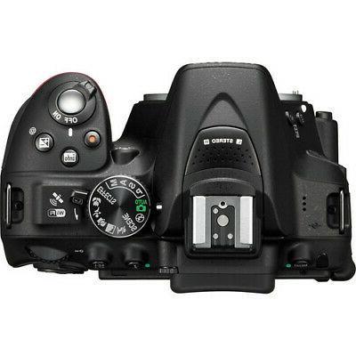 Nikon D5300 DSLR Camera 9 lens 18-55 70-300mm +More