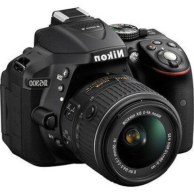 Nikon DSLR 24.2MP + Nikon 18-55mm VR