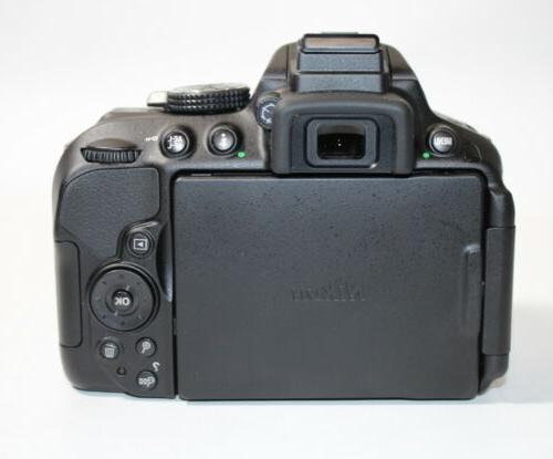 Nikon D5300 DSLR BODY ONLY Free