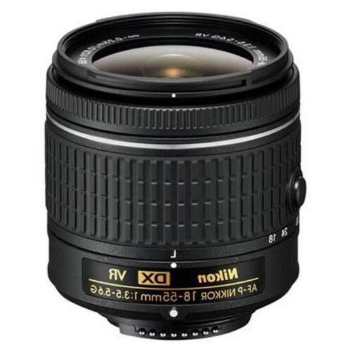 Nikon DSLR Camera w/ 18-55mm Photo Editing Software Kit