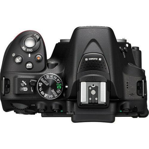 Nikon With 18-55mm Tamron 70-300mm Lenses - Black
