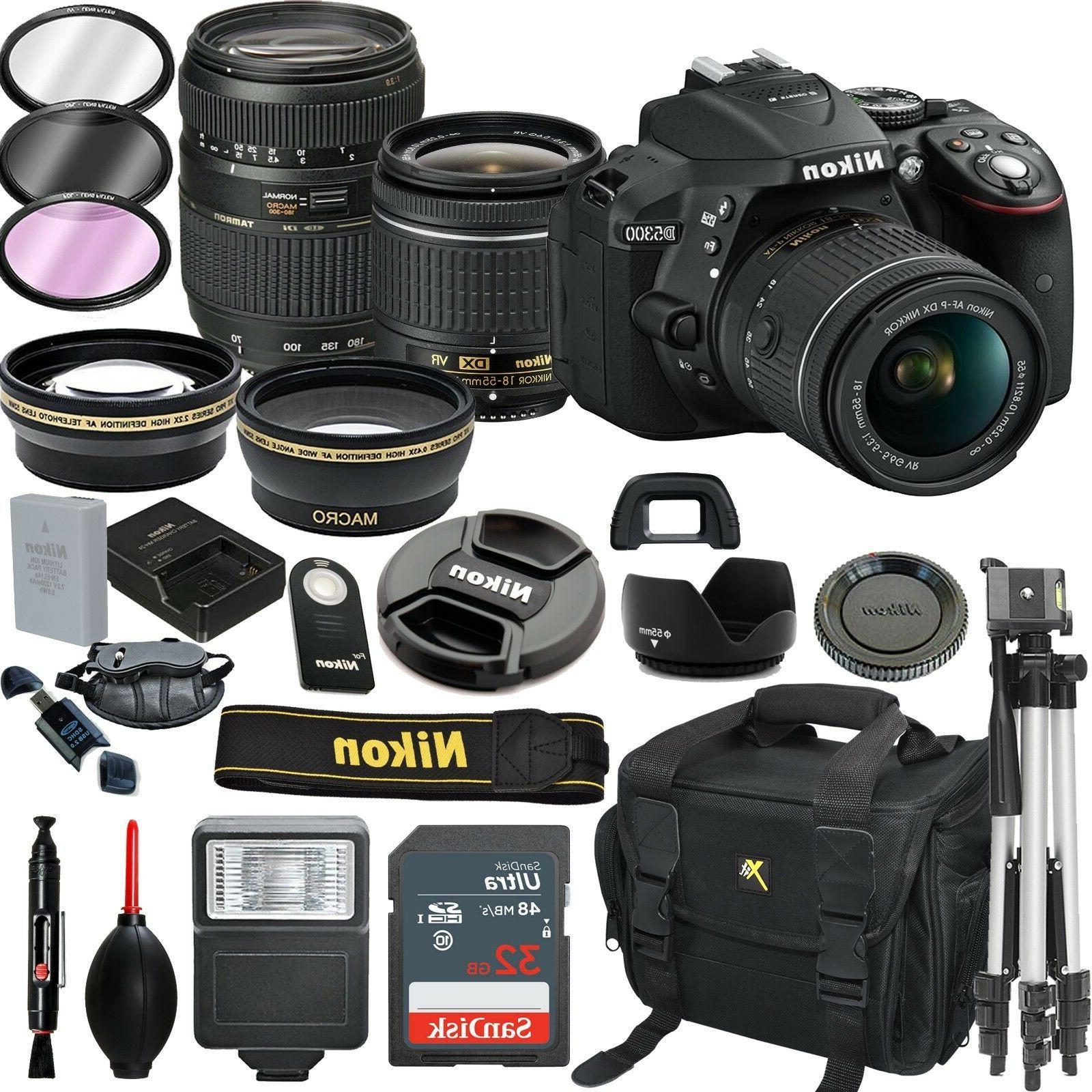 d5300 dslr camera with 18 55mm vr
