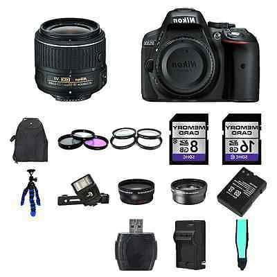 Nikon D5300 DSLR - 24GB Professional