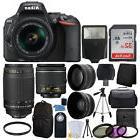 Nikon D5500 Digital SLR Camera + 18-55mm VR + 70-300mm Lens