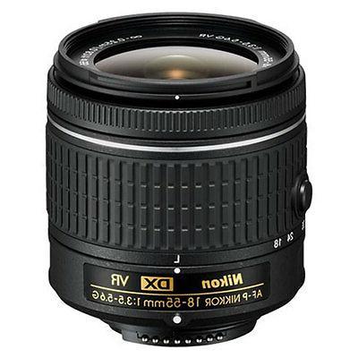 Nikon D5600 D-SLR + & 64GB Accessory Kit