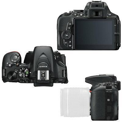 Nikon D5600 24.2 D-SLR + & 64GB