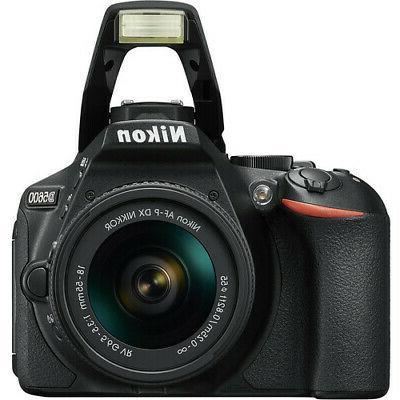 Nikon D5600 Black Camera + 18-55mm + Top Value