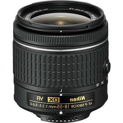 Nikon Camera +3 Lens 18-55mm - 64GB Bundle