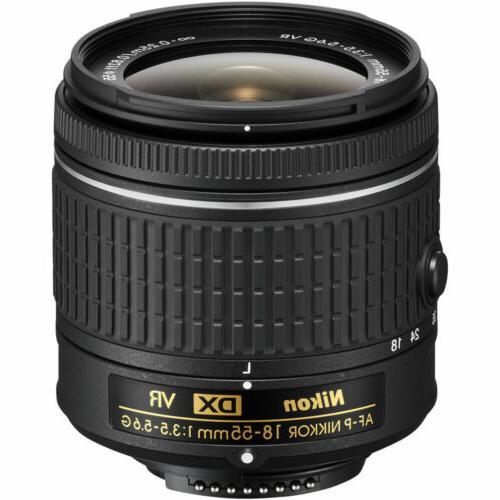 Nikon D5600 DSLR Camera + VR 3 Kit 1yr Bundle