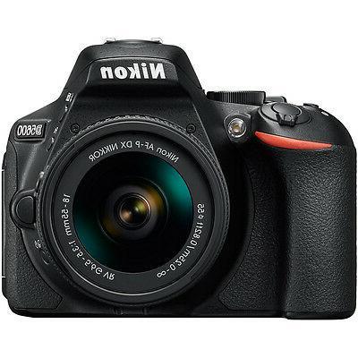 Nikon w/ AF-P 18-55mm + 70-300mm SLD Accessory Bundle