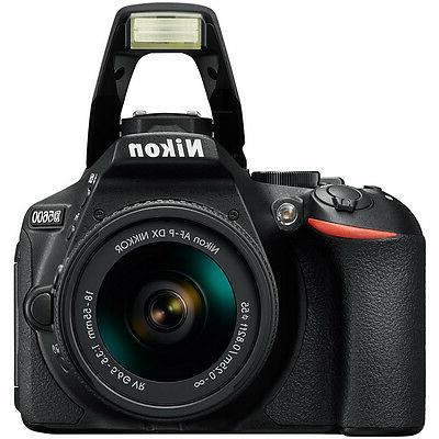 Nikon D5600 DSLR w/ AF-P 18-55mm 70-300mm SLD Lens Accessory