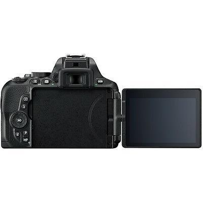 Nikon DSLR Camera w/ 18-55mm + 70-300mm DG Accessory Bundle