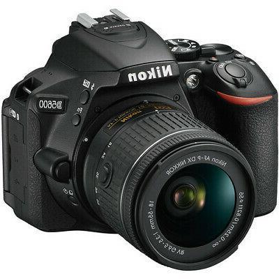 Nikon D5600 Black Camera + 18-55mm + 70-300mm Top Value