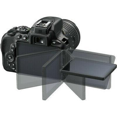 Nikon D5600 Camera 3 Lens Kit 18-55 Lens + 32GB Value