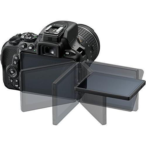 Nikon SLR Camera VR AF-P Card + Case Flash + Tripod Kit