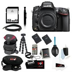 Nikon D610 FX-format Digital SLR Camera Body + 64GB Card + B