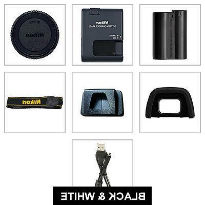 Nikon 4 Lens Kit + Multi Accessory Bundle