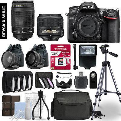 d7200 slr camera 4 lens kit 18
