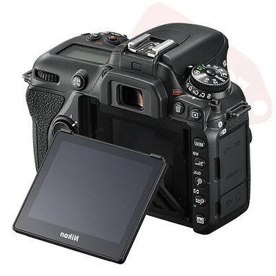 Nikon D7500 4K Digital SLR Camera Body + 64GB Video