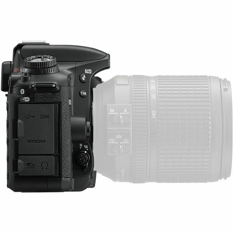 Nikon D7500 4K Ultra SLR Camera-Body