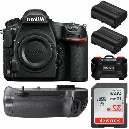 d850 45 7mp dslr camera body battery