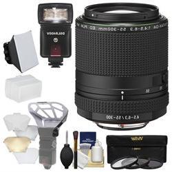 Pentax HD DA 55-300mm f/4.5-6.3 ED PLM WR RE Zoom Lens with