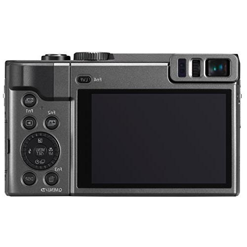 PANASONIC Megapixel, Touch Enabled 3-inch 180 Degree Flip-front Display,