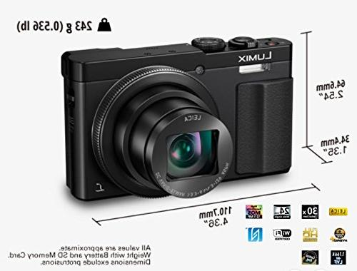 PANASONIC Megapixel, Touch Enabled 3-inch Degree LEICA DC WiFi